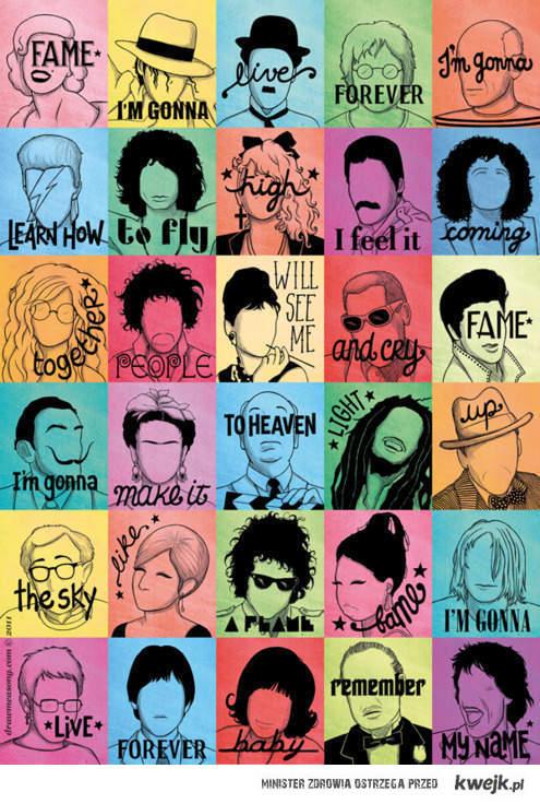 sławni