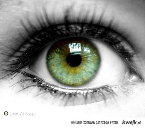 zielone oko :D