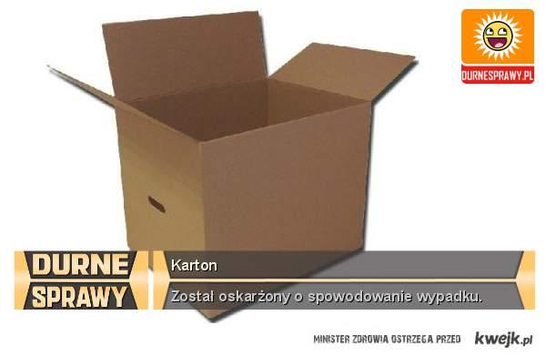 Karton :(