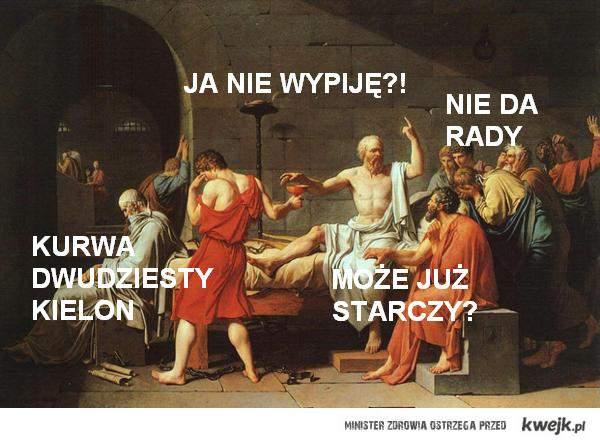 śmierć sokratesa