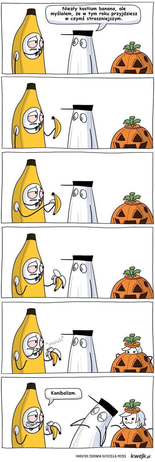 kostium banana