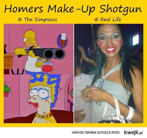 homer i makeup