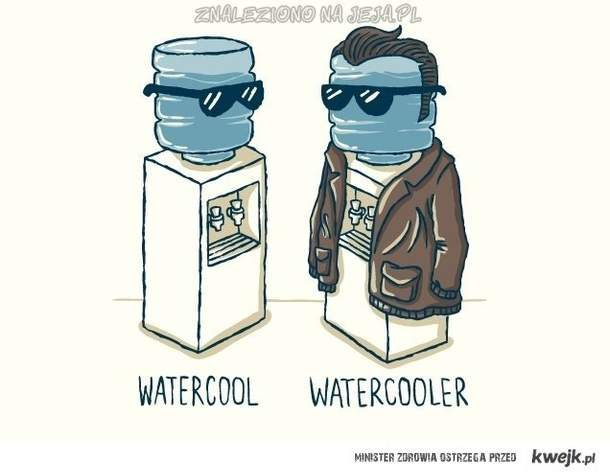 zimna woda...