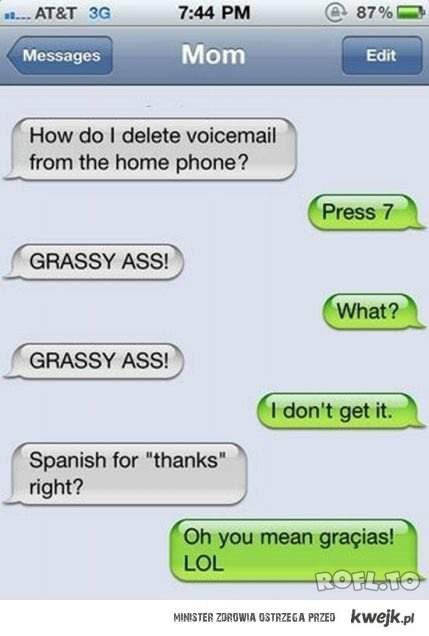 GRASSY ASS!