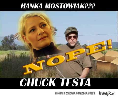 Hanka Chuck Testa
