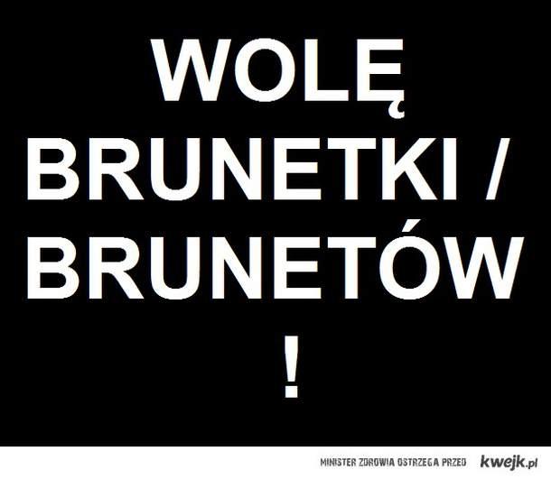 brunetki/bruneci !
