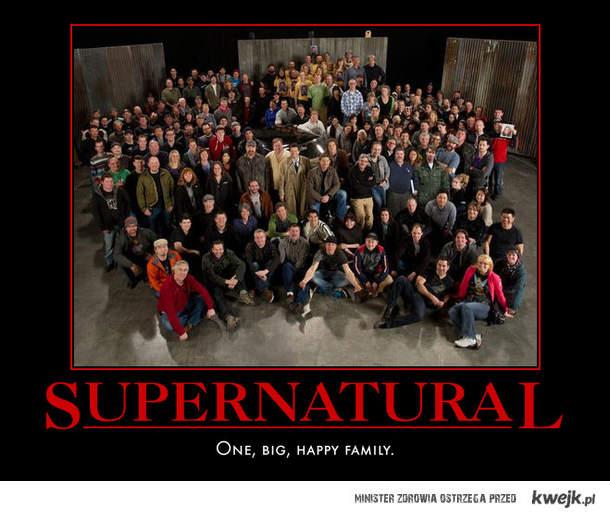 Supernatural - jedna wielka rodzina <3