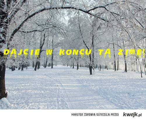 chcemy zimę!