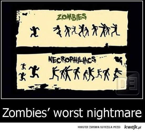 Zombie vs Nekrofilia