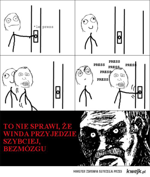 przy windzie
