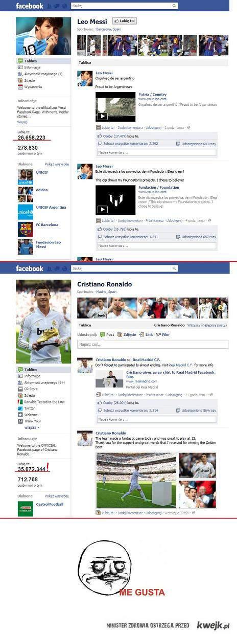 Ronaldo WIN messi lose