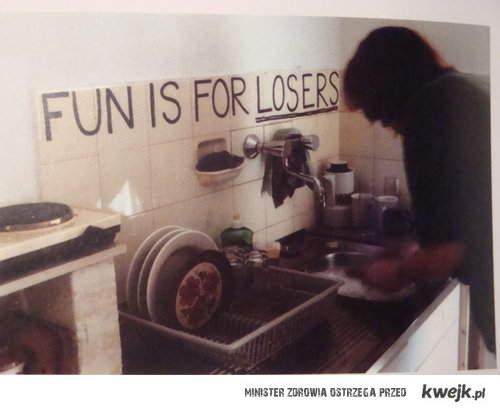 zabawa jest dla przegrańców