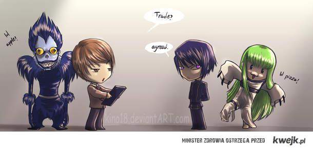 Death Note&Code Geas