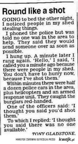 Sposób na policje