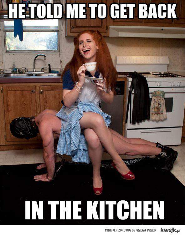 back in kitchen