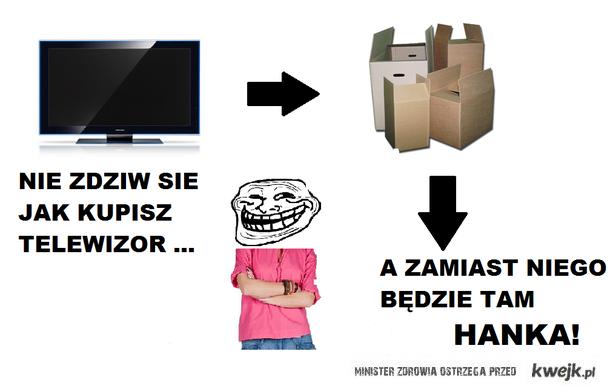 Hanka i telewizor