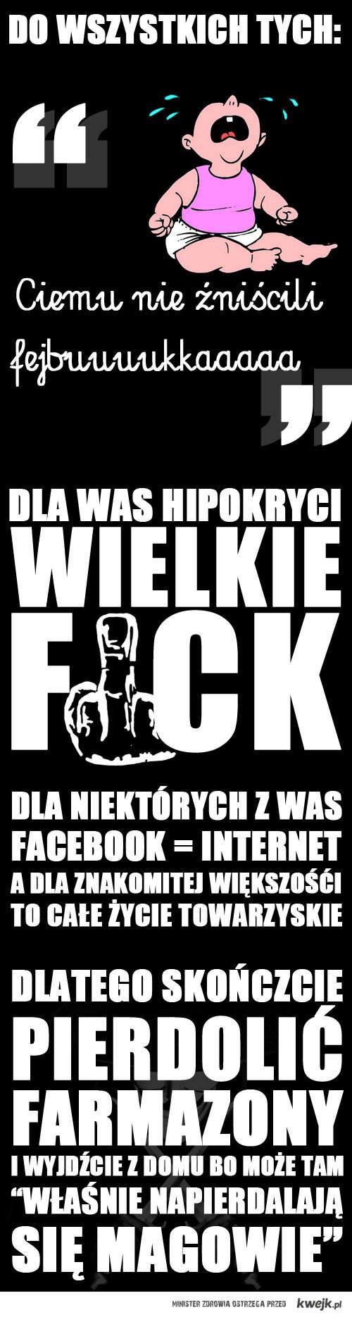 Do hipokrytów
