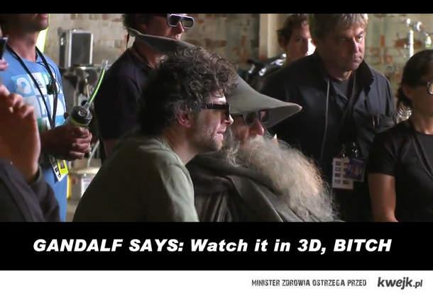 Gandalf says