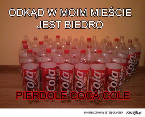 Pierdole Coca Cole