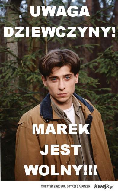 Marek jest wolny!
