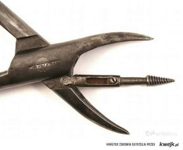 Dawne narzędzie dentystyczne- skusił byś się