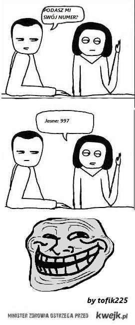 Podasz mi swój numer?