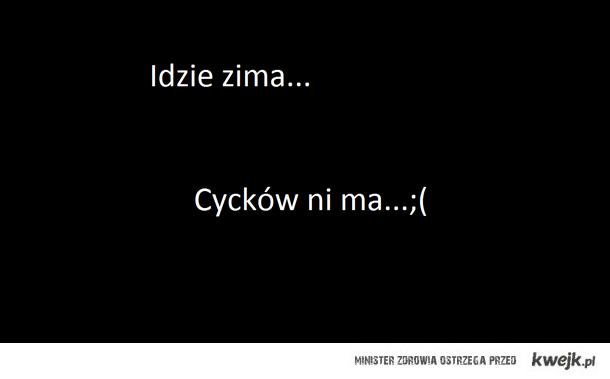 zima ;(