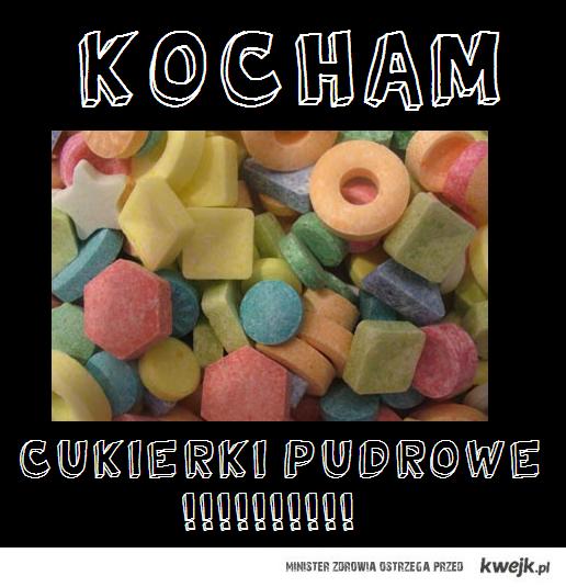 Cukierki pudrowe <3