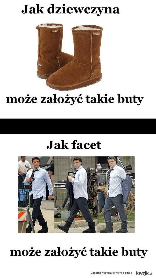 Jak facet może ubrać takie buty