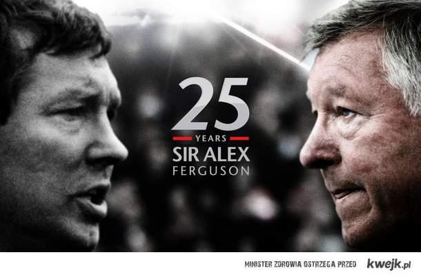 25 years Sir Alex Ferguson