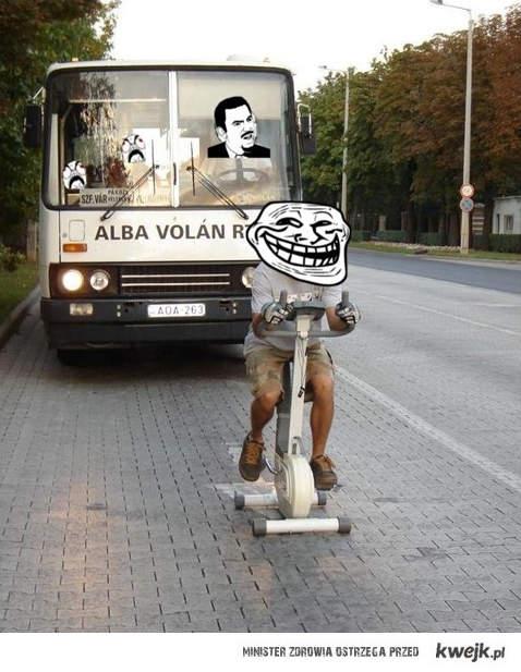 Troll na drodze
