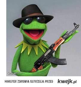 Kermit z AK-47