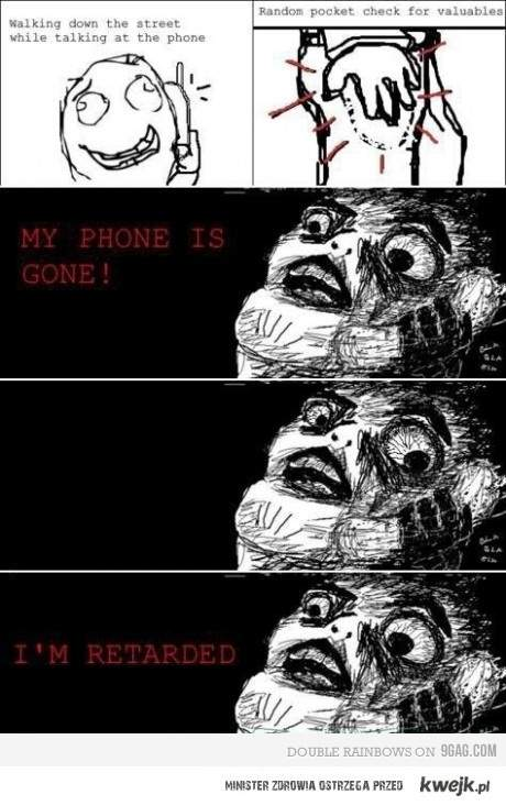 My phone is gone