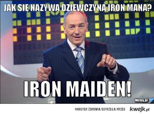 Dziewczyna Iron Mana