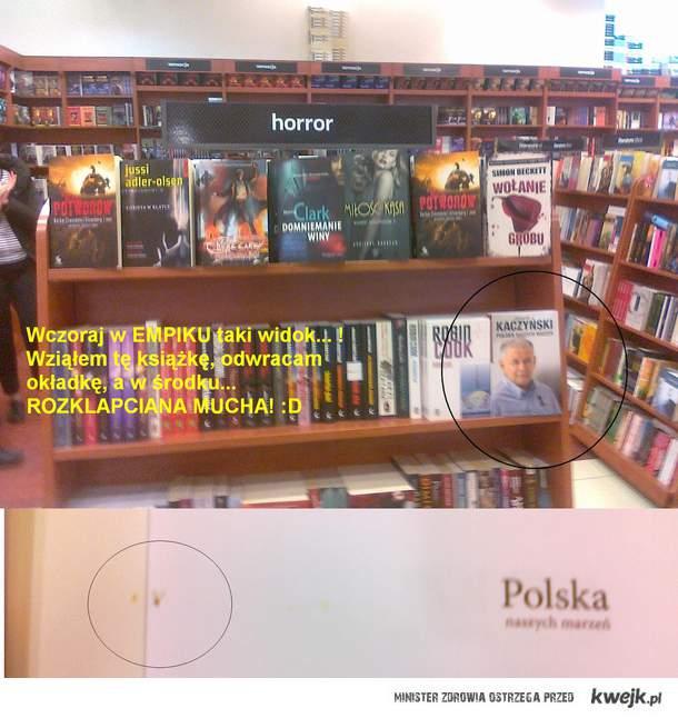 Książka Kaczyńskiego
