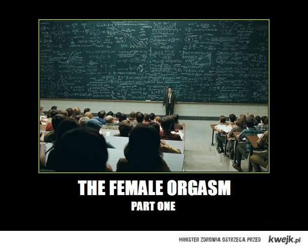 Kobiecy orgazm - część I