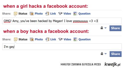 Włamanie na fb