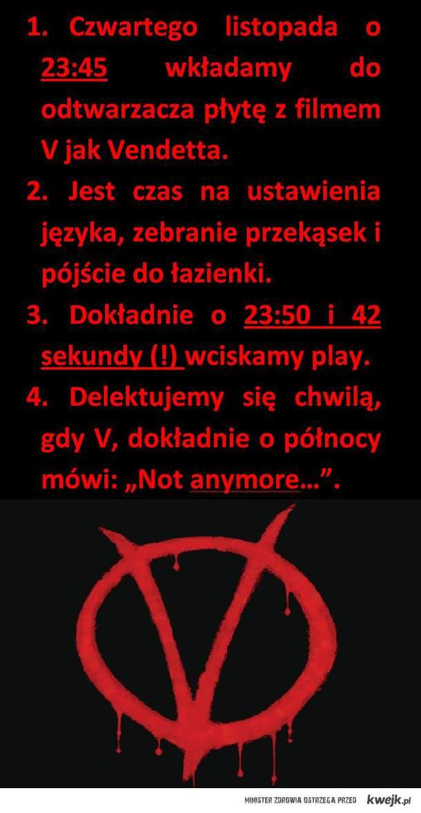 V jak Vendetta 5 listopada