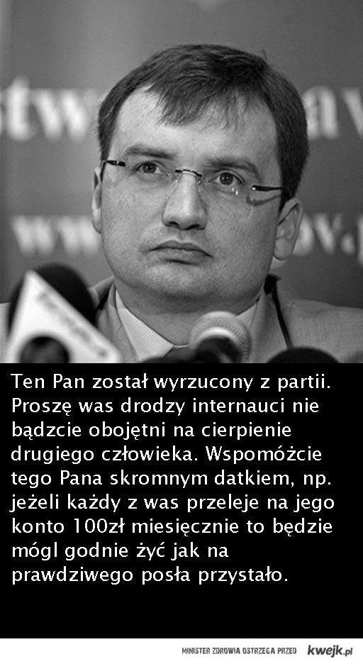 Biedny Ziobro