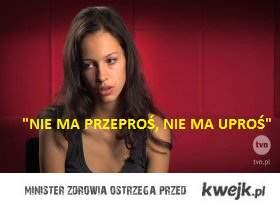 """Ania Bałoń """" nie ma przepros nie ma upros"""""""