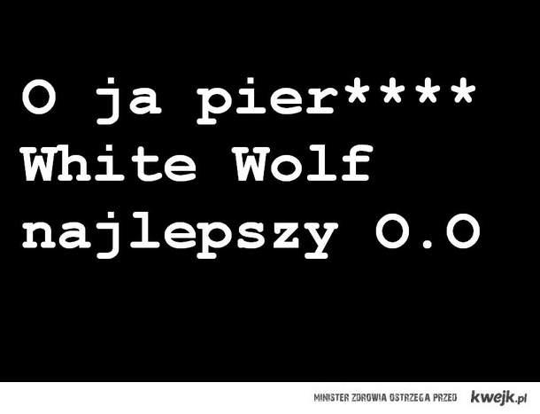 White wolf <3