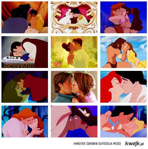 Disneyowe pocałunki