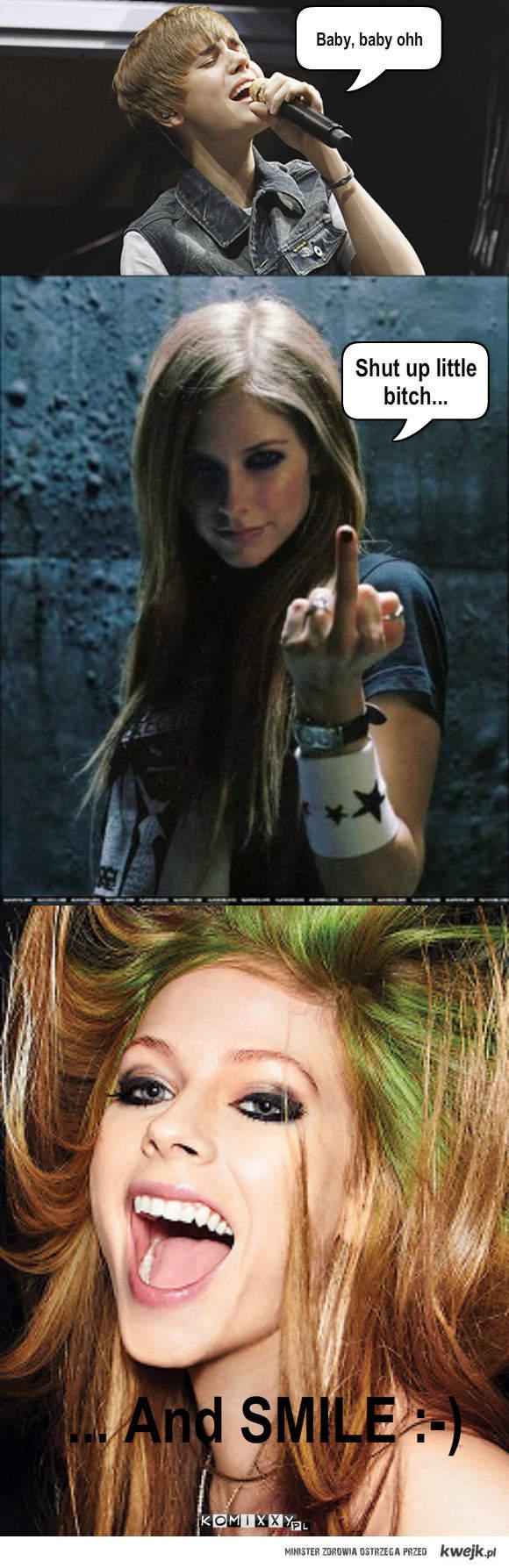 Avril najlepsza !