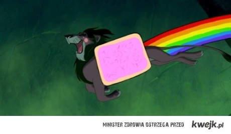 Nyan żyje król