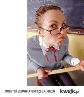 Moja nauczycielka od matematyki jest chora psychicznie