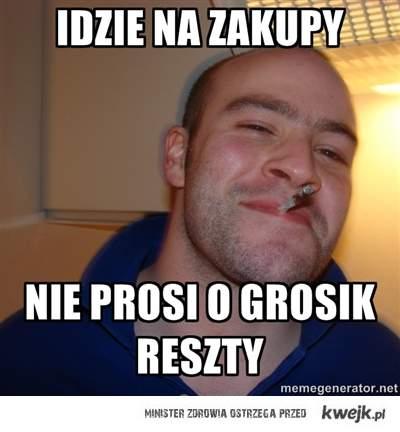 Pierwszy Polski Good Guy Greg