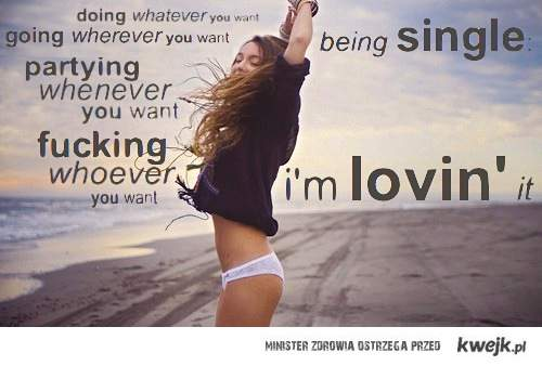 being single: i'm lovin' it