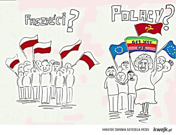 Polacy? Faszyści?