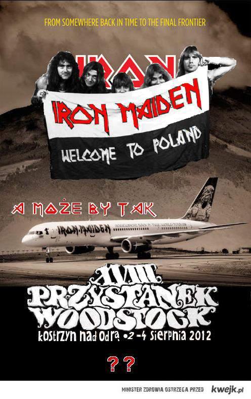 Iron Maiden Woodstock 2012 ??