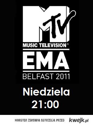 MTV EMA 2011!!!